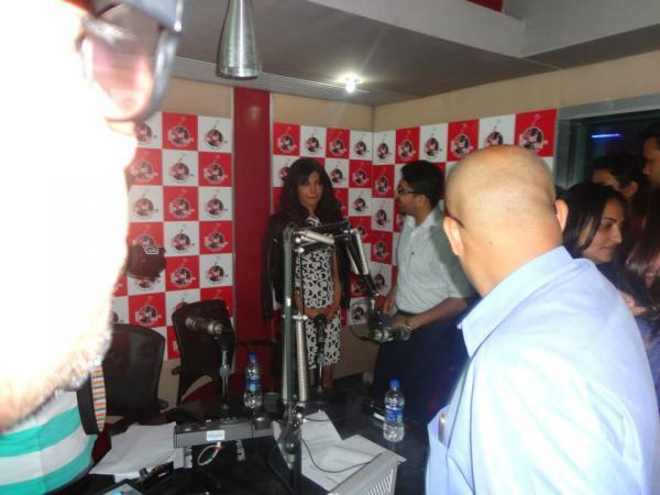 Priyanka Chopra Discussion During The Promotion Of Zanjeer At Fever 104 FM Radio Station
