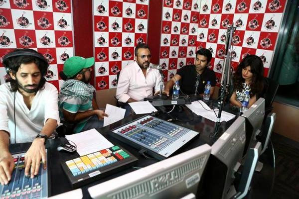 Ram Charan And Priyanka Promote Zanjeer On Fever 104 FM Radio At Delhi