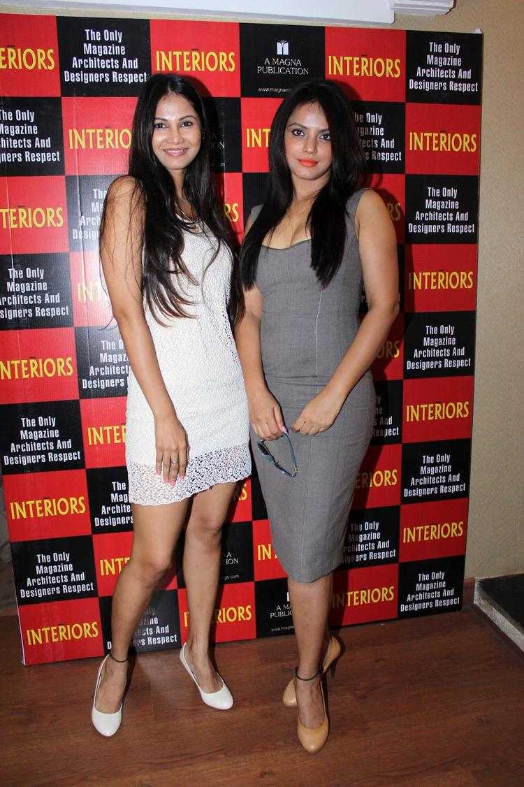 Neetu Chandra Hot Posed During The Launch Of Society Interiors Magazine Cover September 2013 Issue