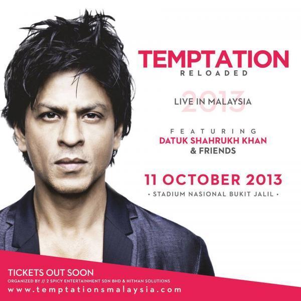SRK Stylish Look On Temptation Reloaded 2013 Edition