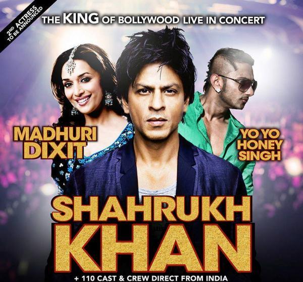 SRK,Madhuri And Honey On Temptation Reloaded 2013 Edition