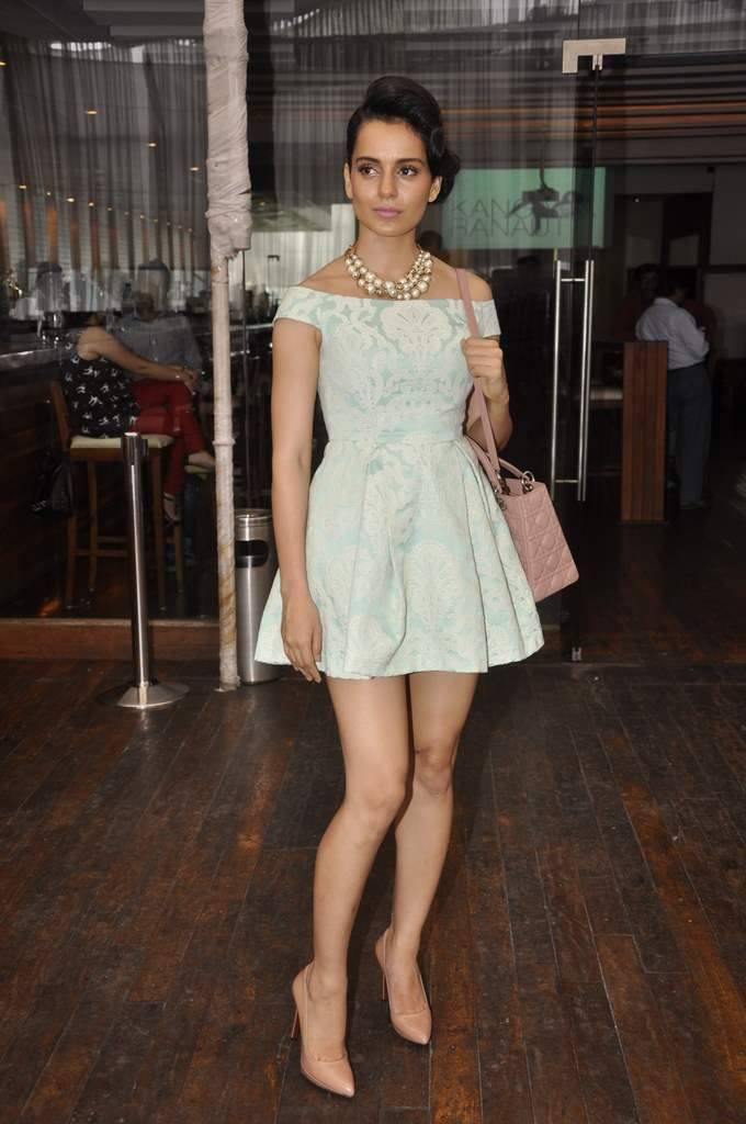 Kangana Ranaut Launches Her Own Website In Topshop Dress