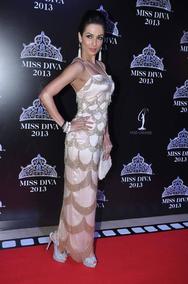 Malaika Arora Khan Stopping Style At Miss Diva 2013 Contest