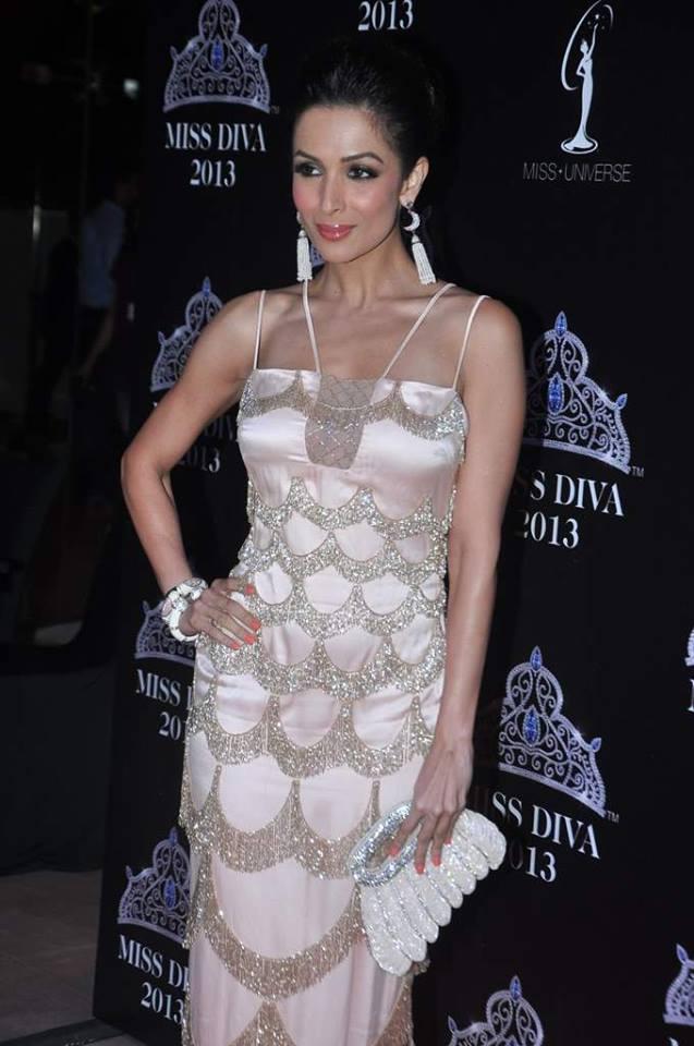 Malaika Arora Khan Strikes A Pose At Miss Diva Contest 2013 Event