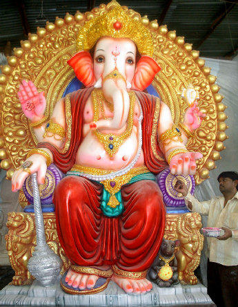 Ganesh Murthi Beautiful Photo
