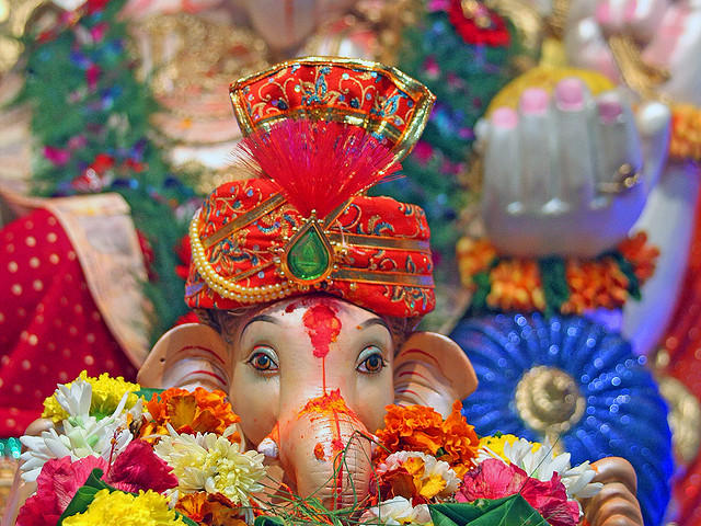 Nice Lord Ganapati Beautiful Wallpaper