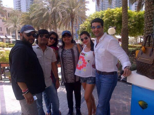 Ameesha Latest Pose For Camera During The Desi Magic Shooting In Dubai