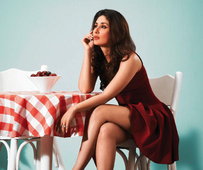 Hot And Gorgeous Kareena Kapoor On Cover Page Of Filmfare September 2013
