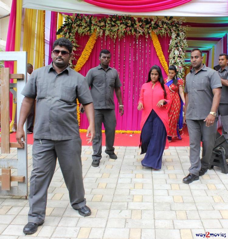 Arpita Khan At Her Residence To Celebrate Ganesh Puja