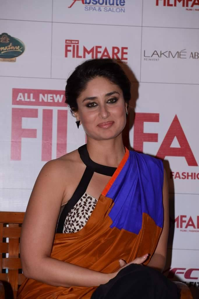Beauty Queen Kareena At The Launch Of The Cover Of Filmfare September 2013 Issue