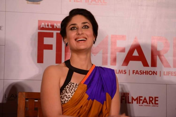 Kareena During The Launch Of Filmfare September 2013 Issue In Mumbai