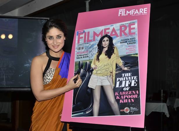 Kareena Kapoor Launches The Filmfare Magazine September 2013