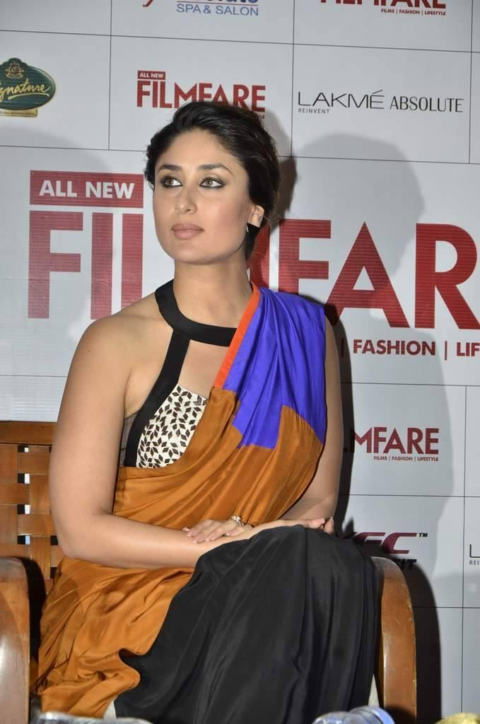 Kareena Kapoor Launches The Filmfare September 2013 Cover