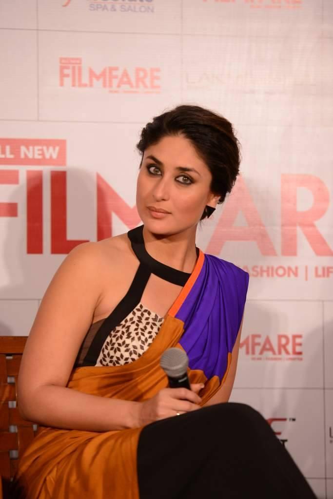 Launch Of Filmfare September 2013 Issue Kareena Pose For Photo Shoot