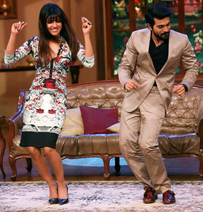 Priyanka And Ram Charan Rocked On The Sets Of Comedy Nights With Kapil