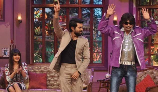 Ram Charan And Sunil Cool Danced, Priyanka Looks On On The Sets Of Comedy Nights With Kapil