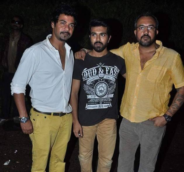 Ram Charan Teja Clicked On The Sets Of Comedy Nights With Kapil
