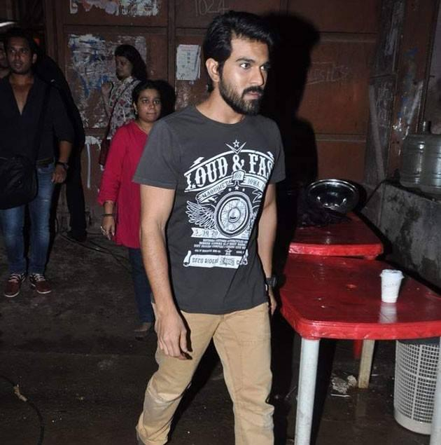 Ram Charan Teja Visits On The Sets Of Comedy Nights With Kapil