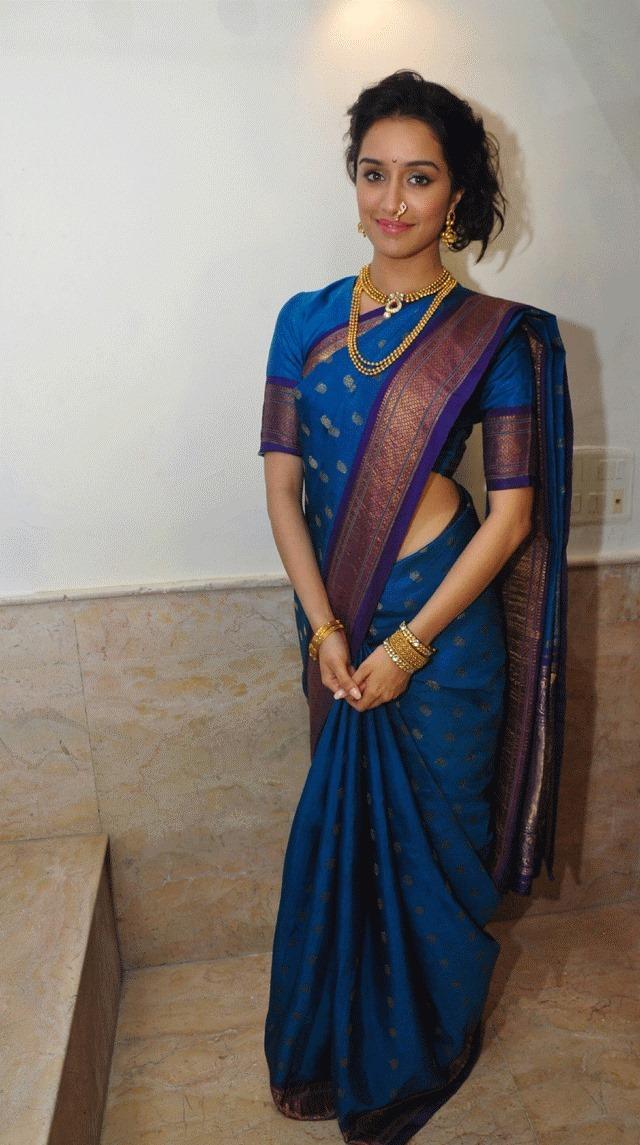 Shraddha Kapoor Charming Look On Ganesh Chaturthi 2013