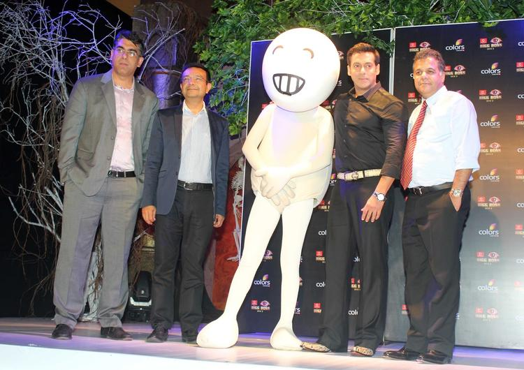 Salman Khan Dazzled At Bigg Boss 7 Press Launch Event