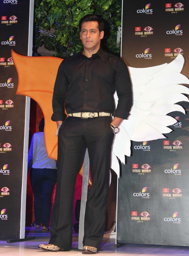 Salman Khan Graced At Bigg Boss 7 Press Launch Event