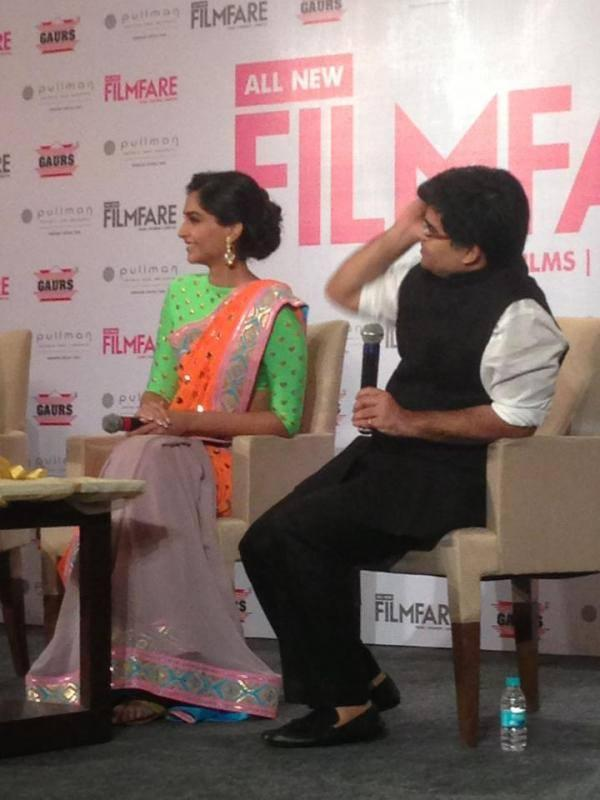 Sonam Kapoor Attend The All New Filmfare Magazine Launch Press Conference