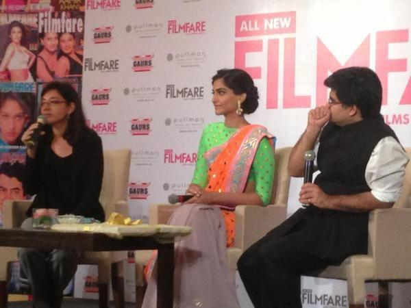 Sonam Kapoor Launches The All New Filmfare Magazine