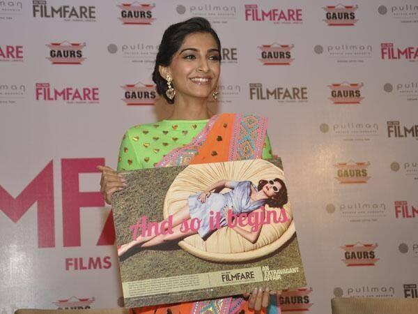 Sonam Kapoor Unveiled The All New Filmfare Magazine