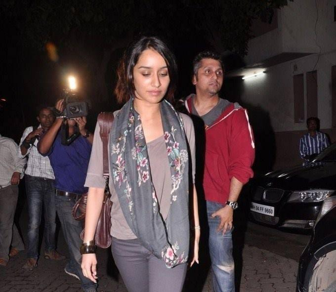 Shraddha Kapoor Simple Nice Look At The Special Screening Of Grand Masti