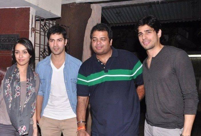 Shraddha,Varun And Sidharth Clicked During The Special Screening Of Grand Masti