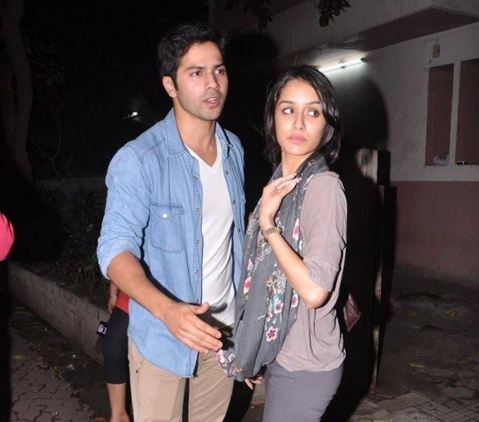 Varun And Shraddha At The Special Screening Of Grand Masti