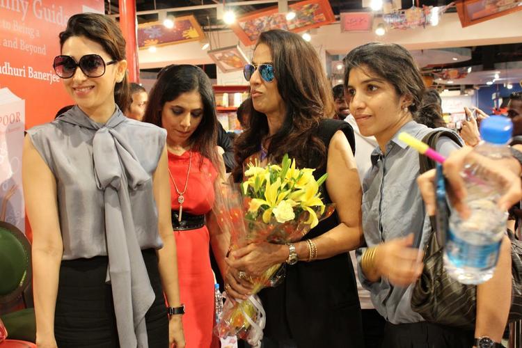 Exclusive Karisma Kapoor At My Yummu Mummy Guide Book Launch Still