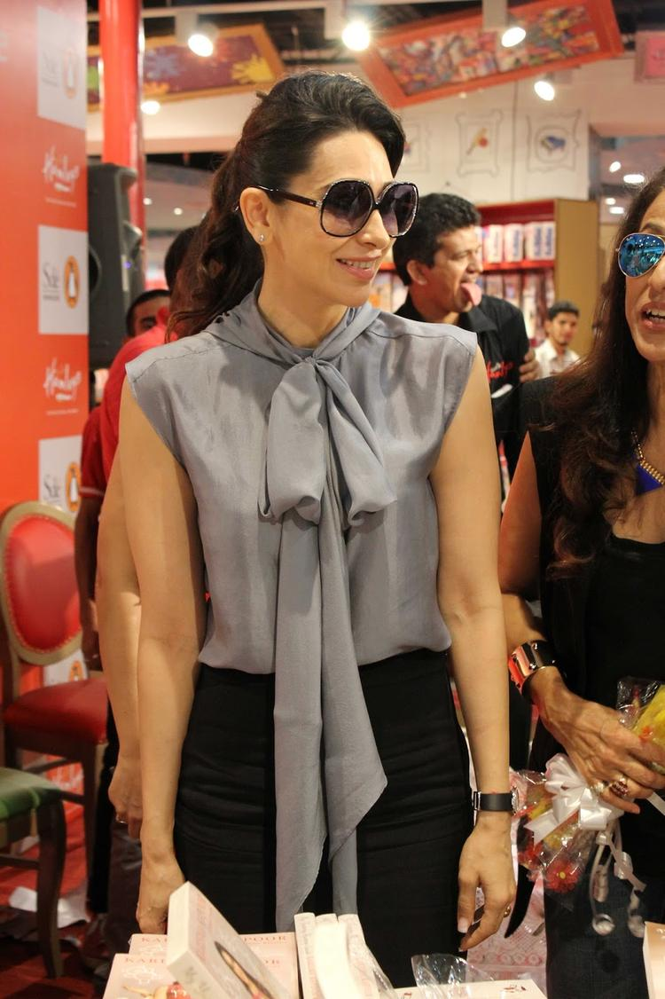 Hot And Stylist Karisma At The Launch Of Book My Yummy Mummy Guide