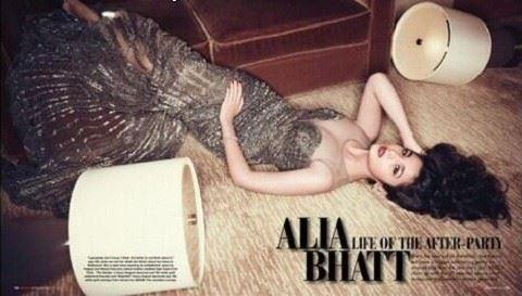 Alia Bhatt shoots for Hello Magazine 2013