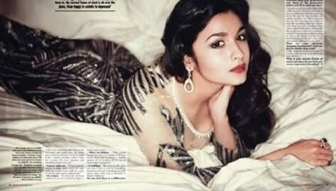 Alia Bhatt Sizzling Pic On The Cover Of Hello Magazine 2013