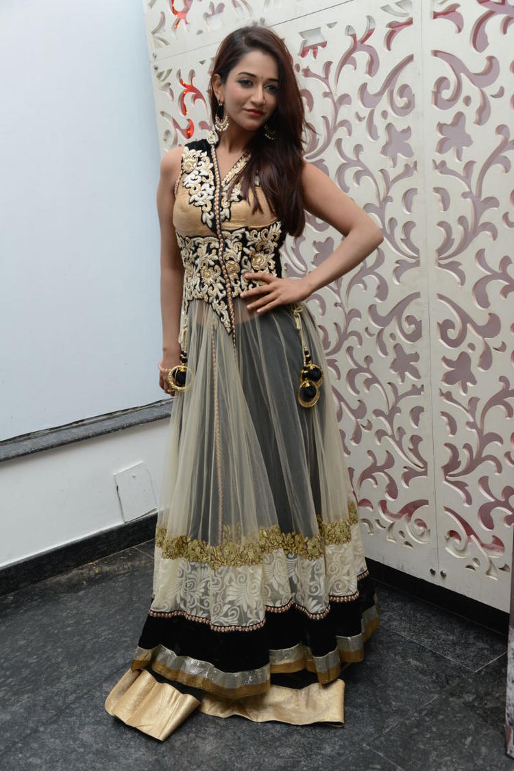 Anaika Looking Beautiful During Satya 2 Movie Audio Release Event