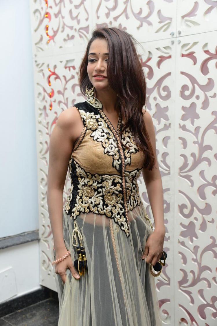 RGV's New Girl Anaika Soti Latest Glamorous Photo At Satya 2 Movie Audio Release Function