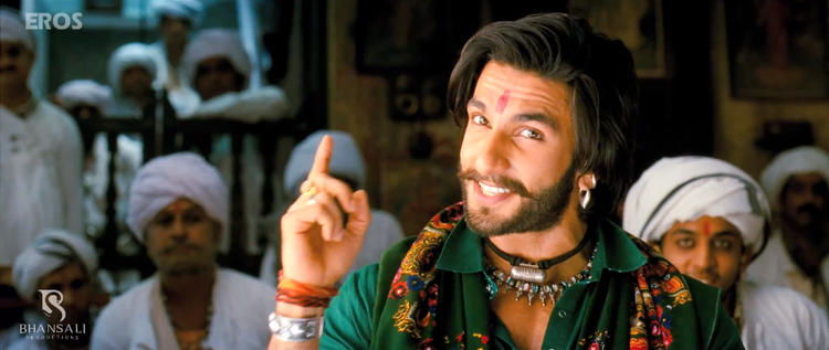 Ranveer Singh Cute Smiling Look Still From Ram Leela Movie