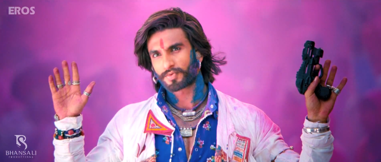 Ranveer Singh New Look Still From Ram Leela Movie