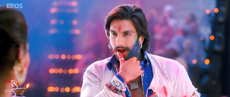 Ranveer Singh Nice Look Still From Ram Leela Movie
