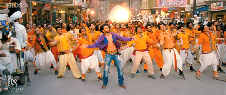 Ranveer Singh Rocking Still From Ram Leela Movie