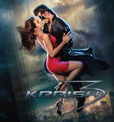 Hrithik And Priyanka Hot Poster In Krrish 3 Movie