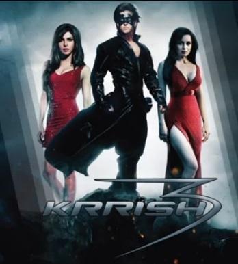 Hrithik,Priyanka And Kangana Krrish 3 Latst Poster Still