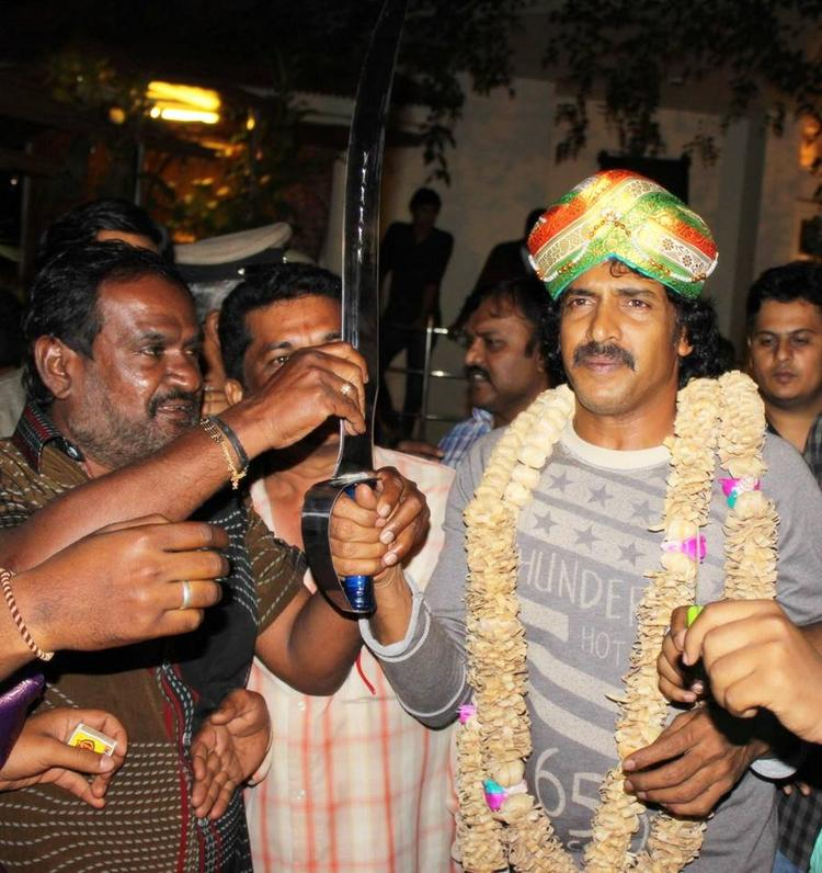 Upendra And His Fans Clicked During His 45th Birthday Celebration