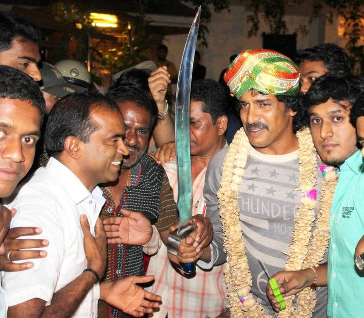 Upendra Celebrates His Birthday With Fans