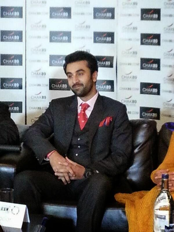 Ranbir Kapoor Handsome Look At Besharam Promotions In London