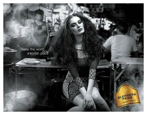 Evelyn Sharma Latest Sexy Photo Shoot For Blenders Pride Campaign 2013