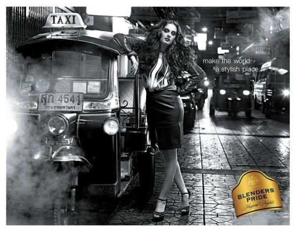 Pretty Evelyn Sharma Shoot For Blenders Pride Campaign 2013
