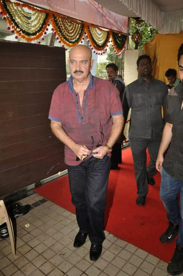 Rakesh Roshan During The Launch Of  Krrish 3 Music