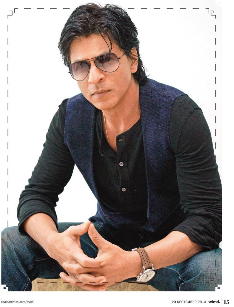 SRK Glamour Look During The Khaleej Times Weekend Magazine Interview 20th September